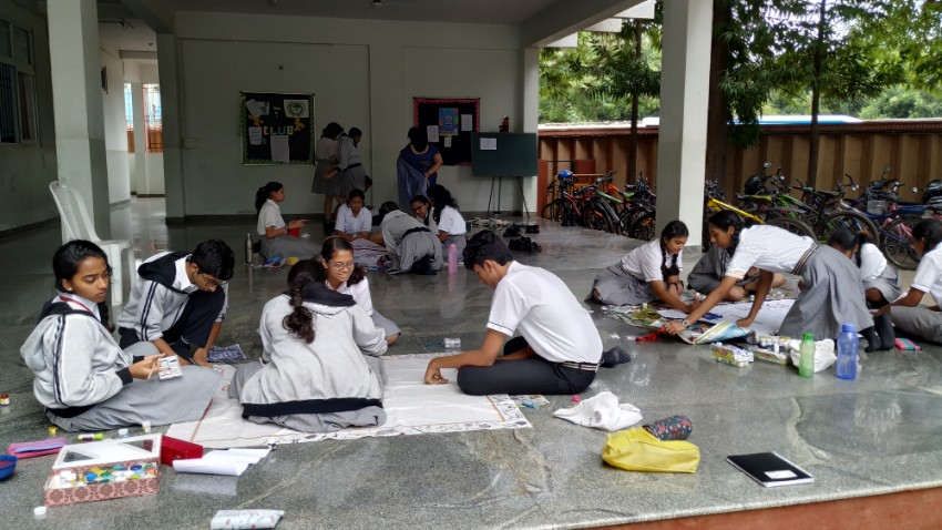 Banner Making Competition  Grade IX - XII 2019-20
