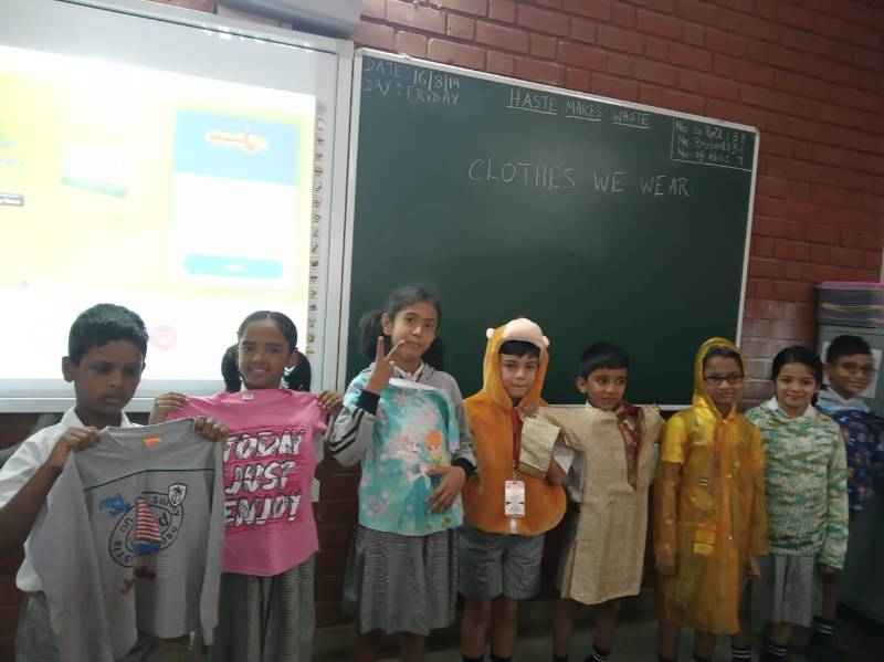 Glimpse of activity based learning class-II EVS - Term-I